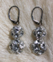 "PRINCESS - Double-beaded - 1.25"" Sterling silver lever backs. $58"